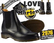 【ドクターマーチン サイドゴア】Dr.Martens 2976 CHELSEA BOOT BLACK SMOOTH ドクターマーチン ブラック【サイドゴアブーツ】メンズ レディース
