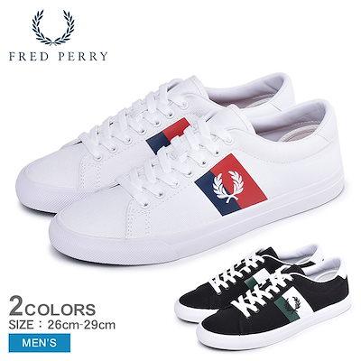 フレッドペリーFREDPERRY フレッドペリー スニーカー アンダースピン プラスチゾル ツイル B4142 メンズ 靴 シューズ