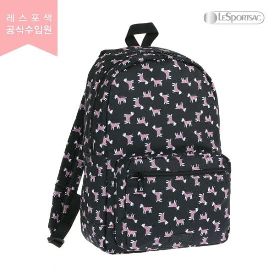 レスポセク・テリアトスブラックデイリーバックパック9836G241 バックパック / 韓国ファッション / Korean fashion