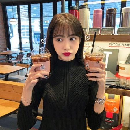 [Imvely] Glam body Goliath knit Korean fashion style