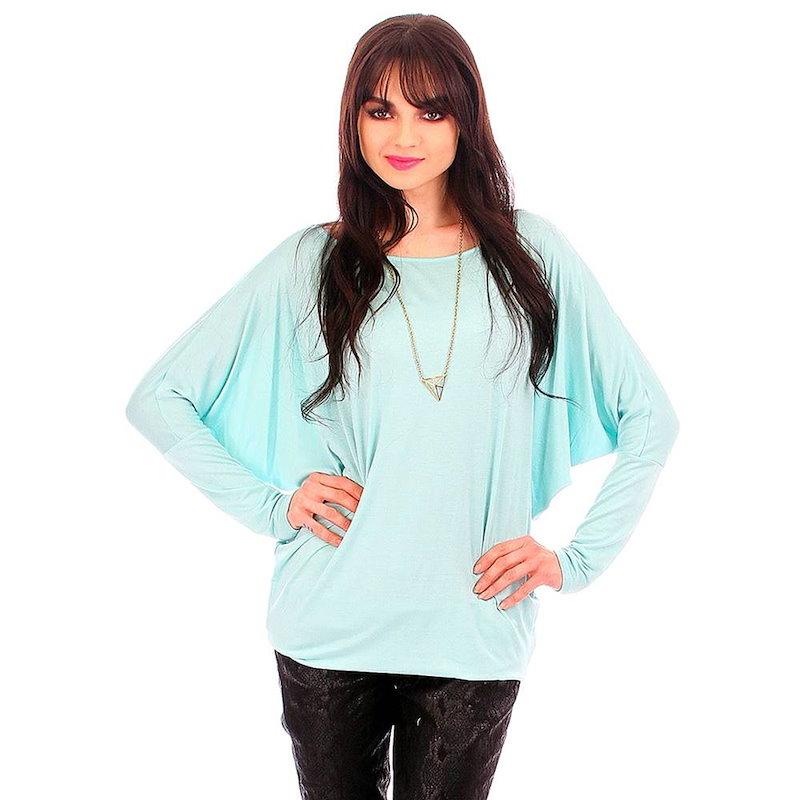 ファッションクラブUSA レディース トップス カジュアルシャツ【Dolman Sleeve Top】Mint
