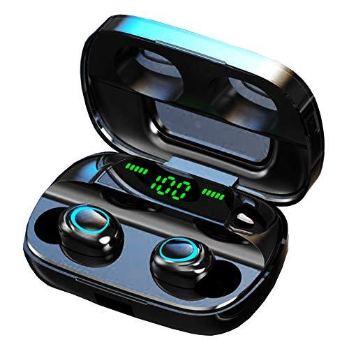 ZEICAFER ワイヤレスイヤホン bluetooth5.0 iPhone android Siri対応 高音質 ブルートゥース イヤホン 両耳 左右分離 防水 自動ペアリング 3500mAh大容量
