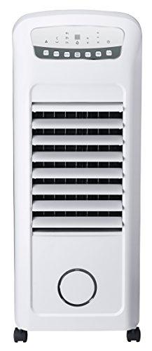 スリーアップ 加湿機能付き 温冷風扇 「ヒート&クール」 ホワイト EFT-1702WH