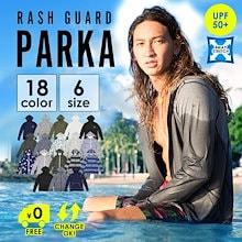 ラッシュパーカー ラッシュガード UVカット UPF50+ 大きいサイズ メンズ パーカー 長袖 ラッシュ 男性用 プール ビーチ  アウトドア 紫外線対策