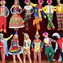 ハロウィン ピエロコスプレ コスチューム ハロウィン衣装仮装 Halloween★サーカス团 Clown魔術師変装デジモンテイマーズ ワンピース 大人 男女ピエロ レディース 大人 コスプレ衣装