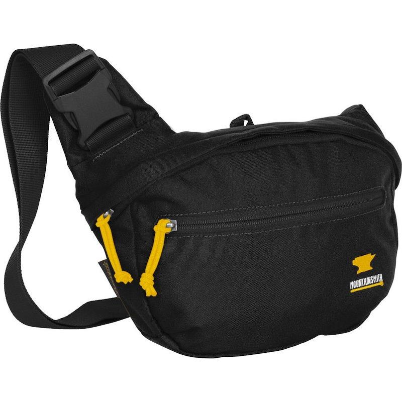 マウンテンスミス ユニセックス バッグ【Knockabout Hybrid Waist/Shoulder Sling Bag】Heritage Black
