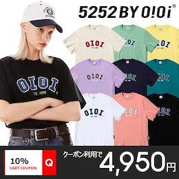 [O!Oi] 新作⭐5252 by O!Oi 2021 Signature T-Shirts 韓国正規品 オアイオアイ Tシャツ 半袖 SNSで話題 送料無料