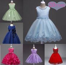 子供服 子供ドレス ワンピース リボン 結婚式 発表会 超可愛いドレス チュチュスカート フラワー レース 花柄 可愛いふわふわ