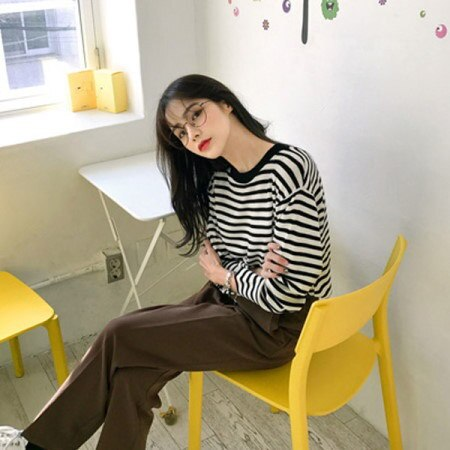【Imvely]バケットリストダンガラニットkorean fashion style