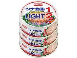 ツナカル LIGHT 1/2 70g×3缶 ホテイフーズコーポレーション