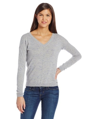 Roxy Juniors Bexley Sweater 2, Heritage Heather Spacedye, Small
