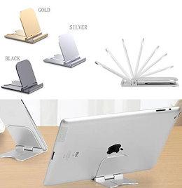 スマホスタンド  折りたたみ 軽量  iPhone iPad スマホ コンパクト 卓上 デスク Android  タブレットスタンド 薄型 角度調整