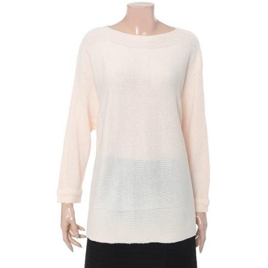 エイビエプジ香織ニートAFR2GW18B ロングニット/ルーズフィット/セーター/韓国ファッション