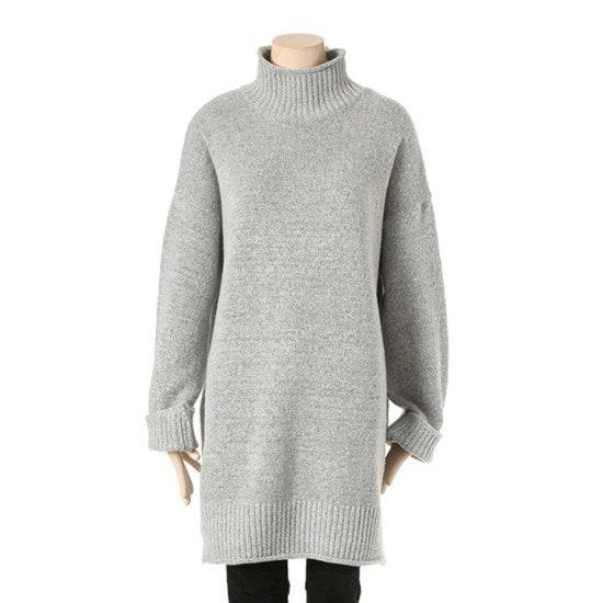 タプゴルルーズフィットハイネックロング・ニットTHZASW935F015 ニット/セーター/ニット/韓国ファッション