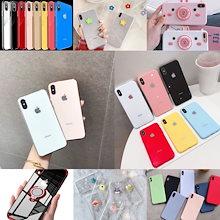 超人気★TPU/Glass★ い純色めっきめっき 韓国 可愛 ケースiPhoneX/XS/XR/XS MAX ケースiPhone7/8/6 ケースiPhone7/8/6plus