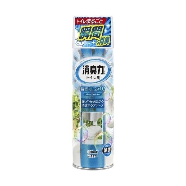 トイレの消臭力スプレー アクアソープ 330mL
