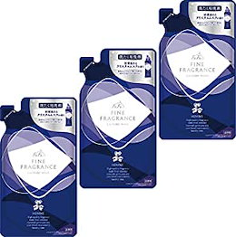 ファーファ 洗濯用 液体 洗剤 ファイン フレグランス ウォッシュ オム クリスタル ムスク の香り 詰替 (360ml) 3個セット