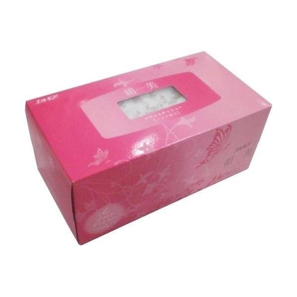 エルモア 絹美プリントティシュー ピンク 製品画像