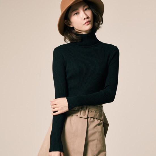 テオドゥゴルジベーシックトドゥルネク・ニット ニット/セーター/ニット/韓国ファッション