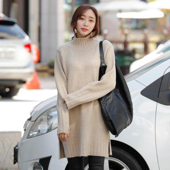 シーフォックスプロビポルラニトゥ ニット/セーター/タートルネック/ポーラーニット/韓国ファッション