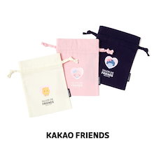 【Kakao friends】カカオフレンズサロン・ドポーチ/Kakao friends salon de pouch/3種・14X19㎝・KAKAO FRIENDS正規品
