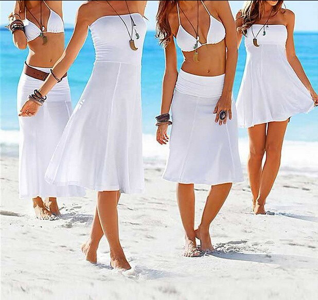 スモック外の新しいヨーロッパやアメリカのファッションビキニは、より多くのビーチラップスカートのドレスを着用