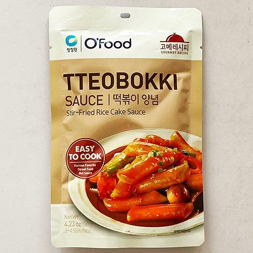チョンジョンウォン グルメ レシピ トッポキ ソース コチュジャン 120g 3-4人前 韓国 食品 料理 食材 ごチュジャン トッポッキ トッポギ