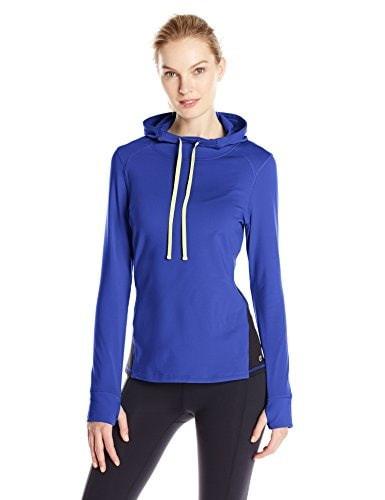 Spalding Womens Hooded Fleece Sweatshirt, Purple Vibe, Small