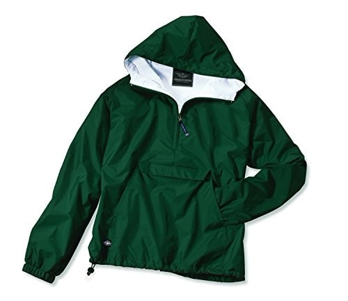 Charles River Apparel Womens Front Pocket Classic Pullover,Small,Forest