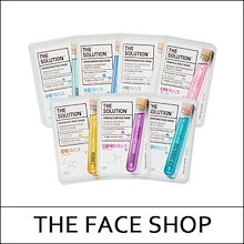 [THEFACESHOP] The Solution Face Mask 20g*5ea / Mask Sheet