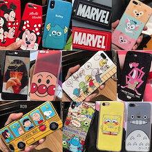 iPhone X 7 plus 8 ケース 6s plus ケース カカオフレンズ 韓国 アイフォン アンパンマン ポケモン 安い カップル LINEブラウン クレヨンしんちゃん  ハート トトロ