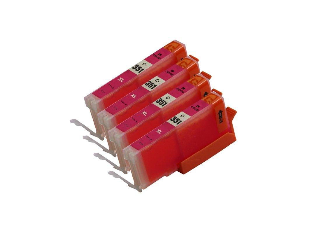 351XLM 4本セット 大容量 互換インクキャノンプリンター用互換インクタンク残量表示 ICチップ付