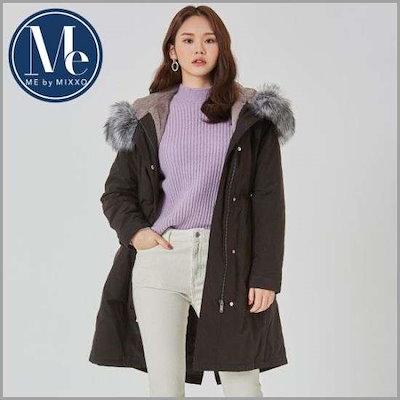 [ミソ][MEby]ファー野上パディングMIWJP8V41L / 像/サファリジャンパー/ 韓国ファッション