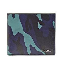 プラダ PRADA 二つ折り財布 メンズ カモフラージュ 2mo738safcam-roya アウトレット