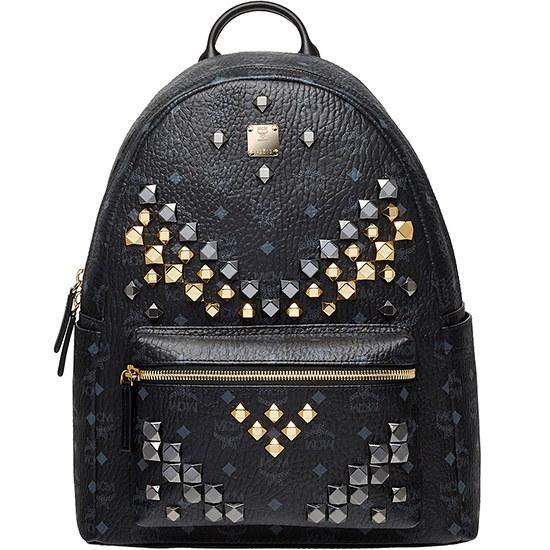 エムシエムSS16新商品!STARKミディアムバックパックブラック バックパック / 韓国ファッション / Korean fashion