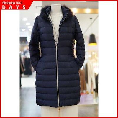 [リアンニューヨーク]Wモールリアンニューヨーク、フォックス・トリミング羽毛ジャンパーMJPHC710 / パディング/ダウンジャンパー/ 韓国ファッション