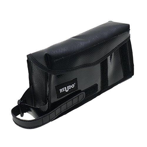 ロードバイク iPhone用 【縦型】トップチューブバッグ (iPhone 6/7/8/X/11/11 pro 対応) 【ブラック】