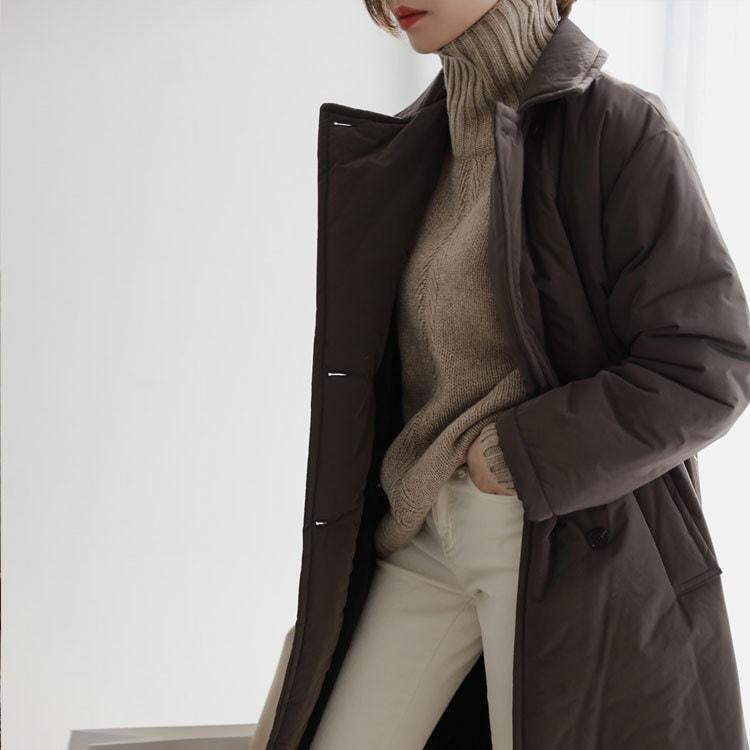 [CHICHERA]★送料無料★韓国ファッションサイトNo.1 /デイリーロングジャンパーは
