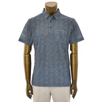 [SAY公式ストア][ピエールカルダンカジュアル】ポリメッシュプリント半袖TシャツPJTS2905、PJTS2906