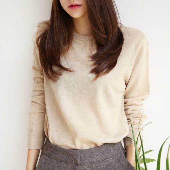 デイリー・マンデーColor soft knitカラーソフト・ニット ニット/セーター/ニット/韓国ファッション