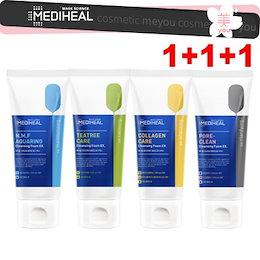 【洗顔料1+1+1】メディヒール 選べる1+1+1=3個セット!洗顔フォーム クレンジング 170ml  水分強化・ 弱酸性洗顔・弾力強化・毛穴ケア