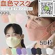 国内即日発送成人マスク/子供用マスク4層構造 50枚 個包装 柳葉型 不織布マスク血色マスクKN95