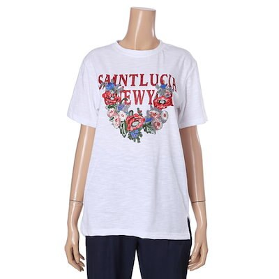オチョク自首、半そでのティー71512517 プリント/キャラクターシャツ / 韓国ファッション
