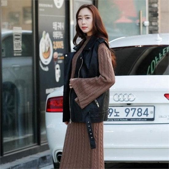シーフォックス行き来するようにシーフォックスシークホリックベストライダー ベセチュウ / ニット・ベスト/ 韓国ファッション