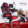 ☆カートクーポンで更にお得に!!オフィスチェア 160度リクライニング オフィスチェアー リクライニングチェアー クッション付 椅子