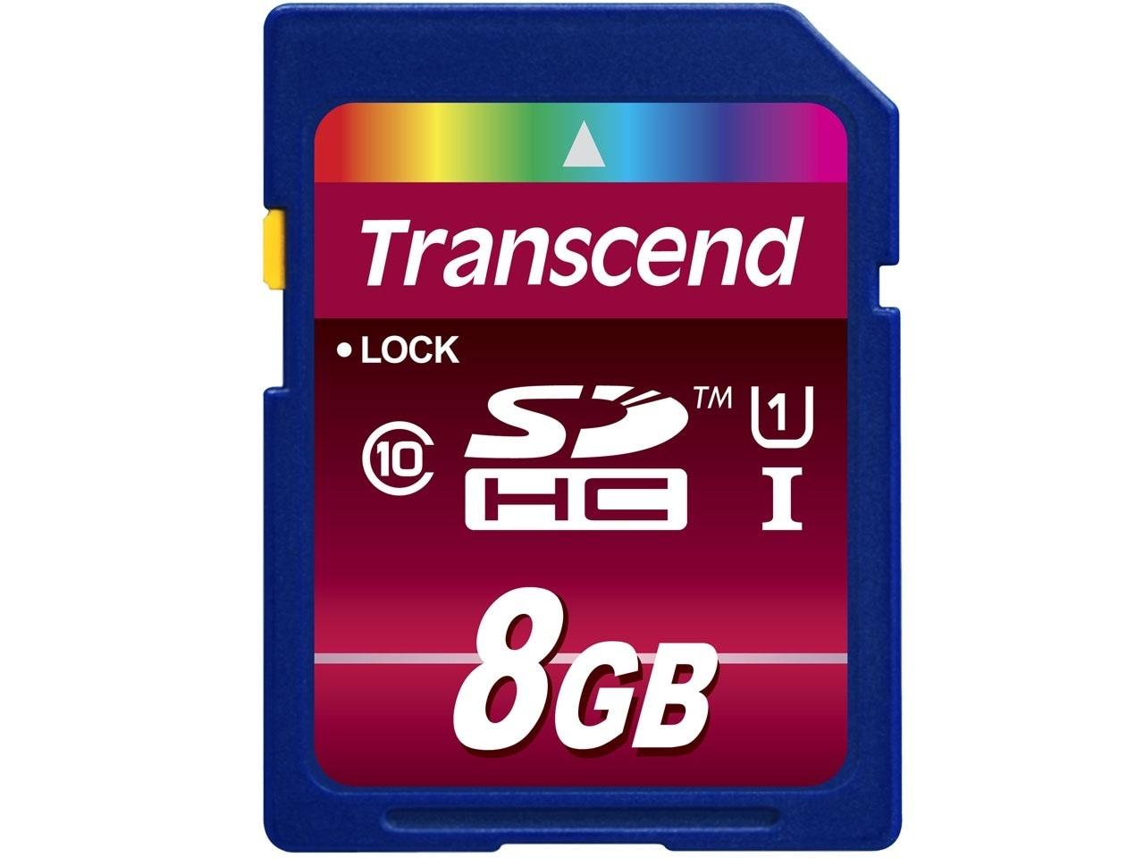 【正規国内販売代理店・ネコポス便送料無料】トランセンド[Transcend] 8GB SDHCカード Class 10 UHS-I 600x (Ultimate)TS8GSDHC10U1