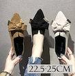 ✨バブーシュタイプのフラットパンプス✨オールシーズンOK!💗バレエシューズ パンプス シューズ レディース フラットサンダル靴 歩きやすい美脚靴シューズ カップルスリッパ 滑り止