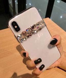 モトローラ モトG5 g5s g4 cプラス z z2 x再生mダイヤモンド ちょう結び携帯電話 スキンシンプルなラインストーン クリア