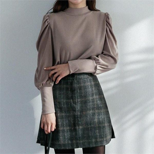 hand madeurban single long coat 女性のコート/ 韓国ファッション/ジャケット/秋冬/レディース/ハーフ/ロング/