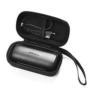 Nice Cool ケース For Bose SoundSport Free wireless headphones 保護ボックス 旅行キャリーケース (ブラック)